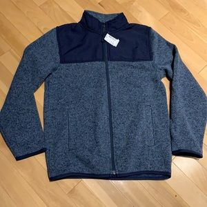 Children's Place Full zip Boys Hoodie - size L